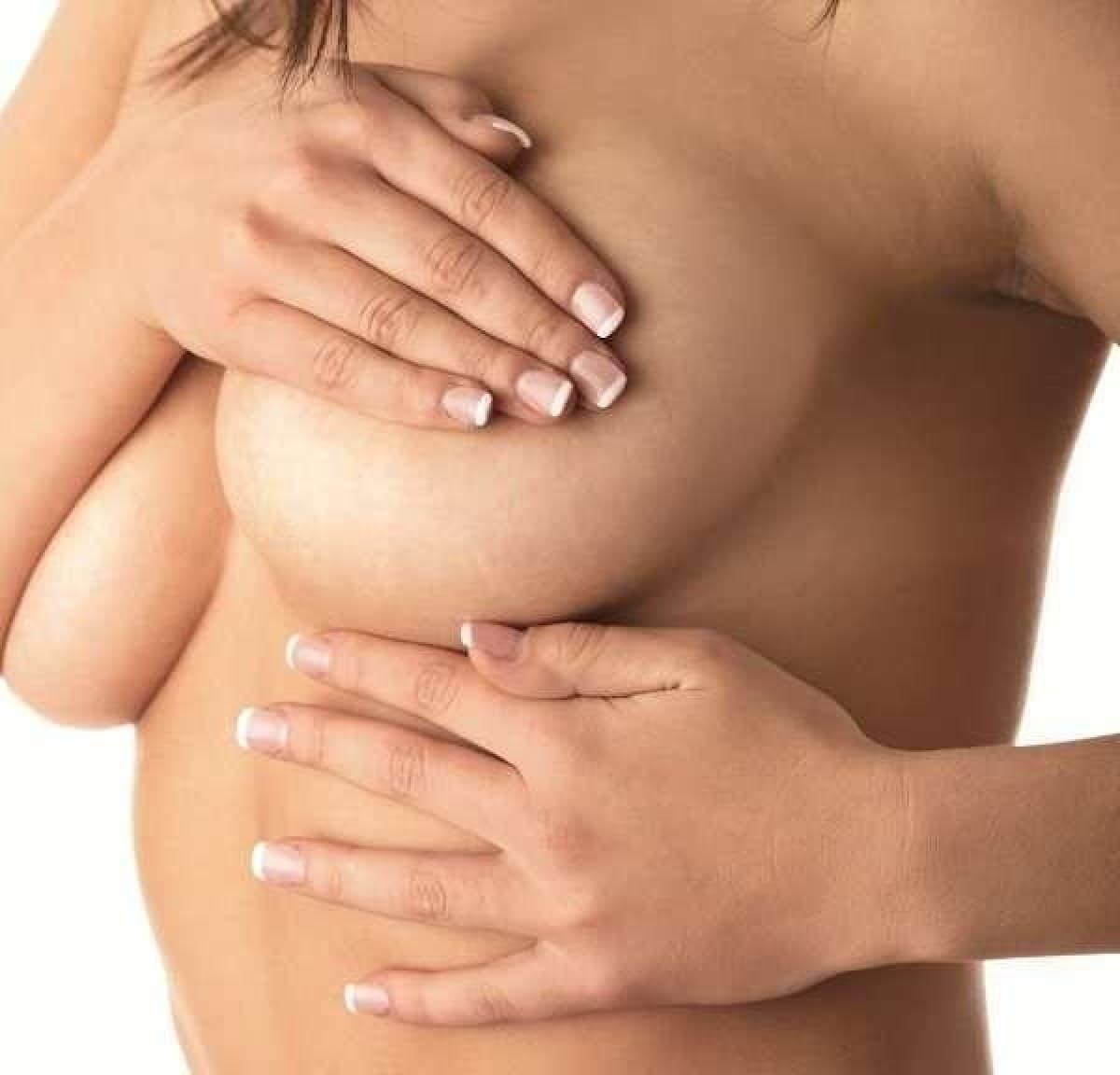 осмотр молочных желез