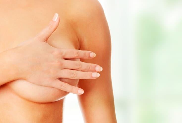 Самостоятельно обследовать грудь нужно 1 раз в месяц