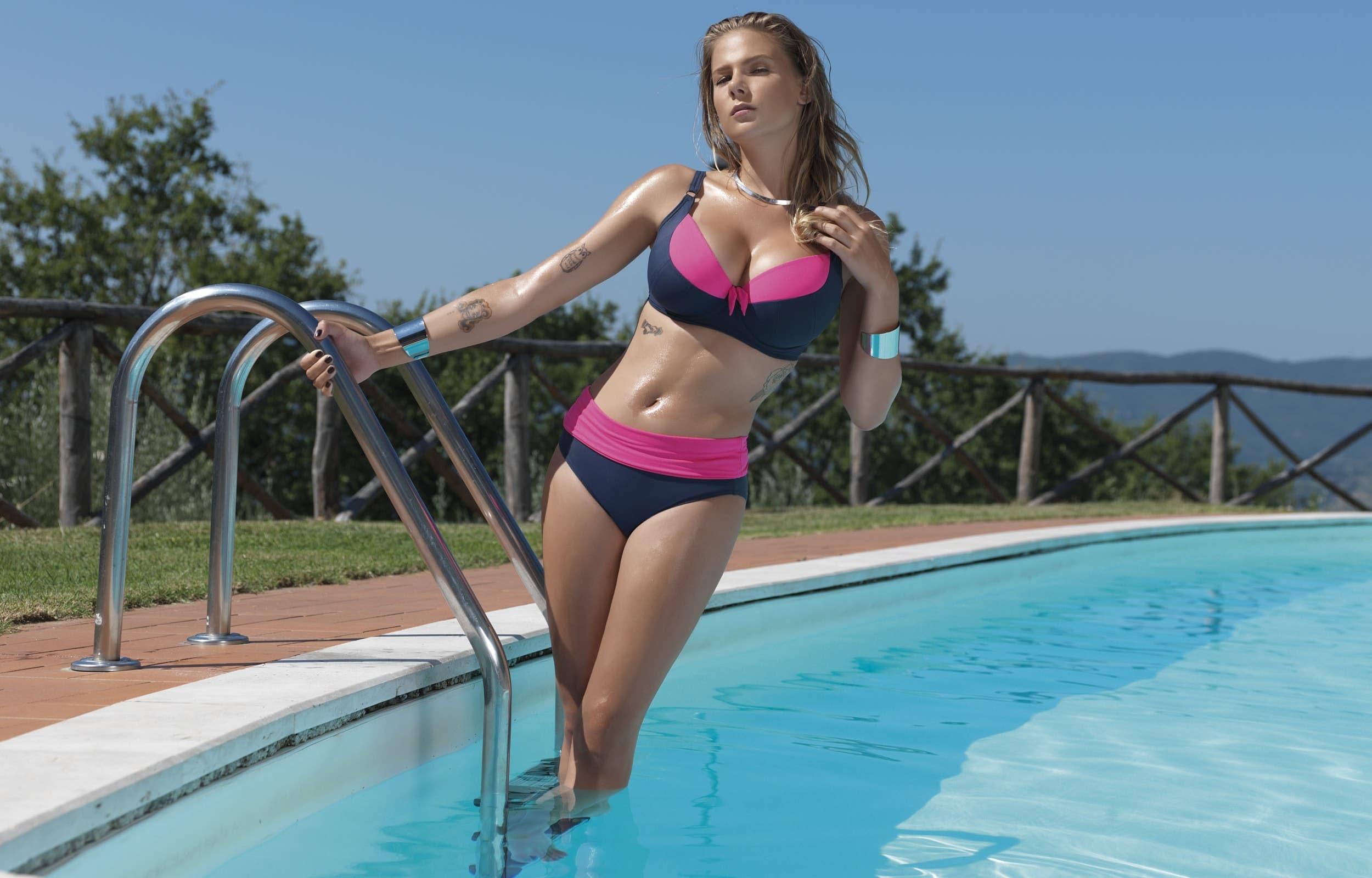 Плавание без тампона может привести к неприятной ситуации во время месячных