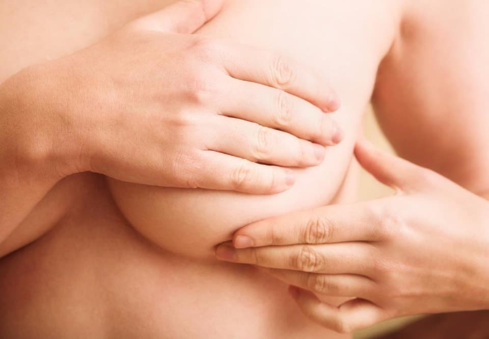 Растяжки на груди во время беременности