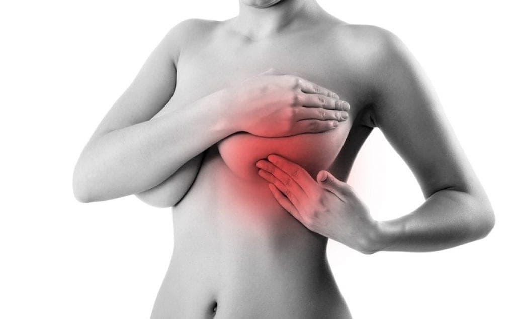 Боль в груди в середине менструального цикла