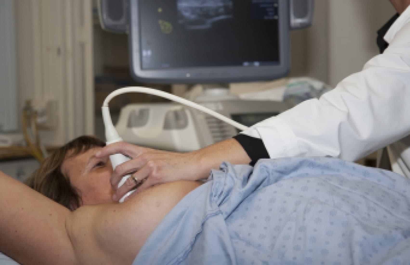 ультразвуковое сканирование молочных желез