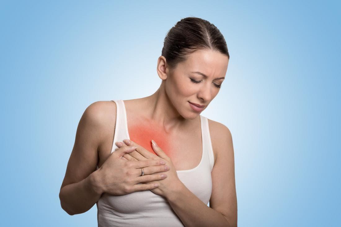 Боль в груди после травмы требует обязательного проведения ультразвукового или маммографического обследования