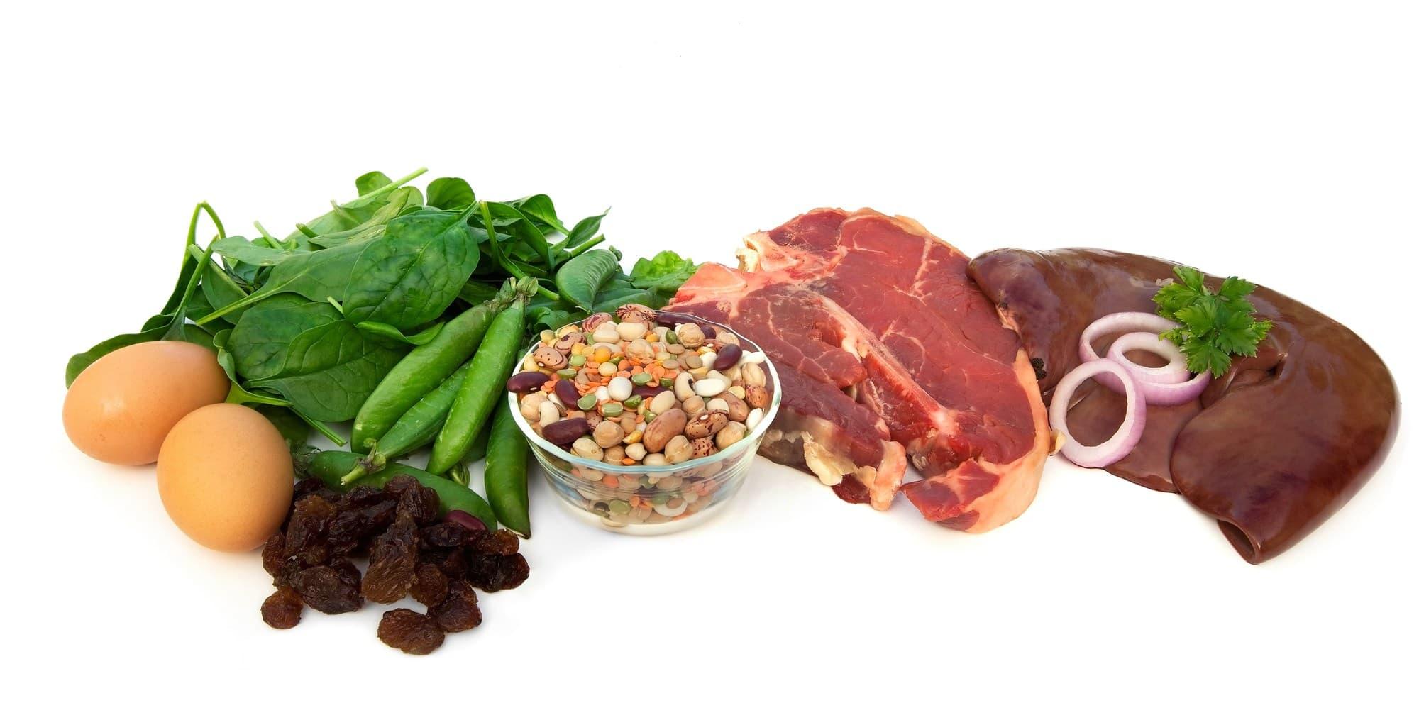 Отдайте приоритет продуктам с высоким содержанием железа во время критических дней