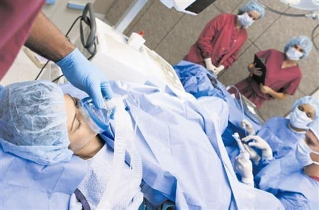 Нежелательные последствия пункции яичников: внутрибрюшное кровотечение